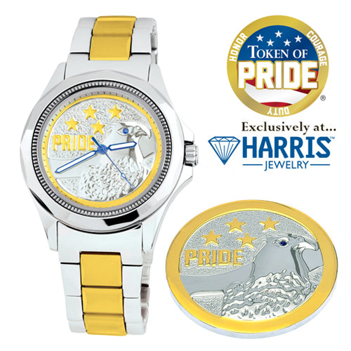 Token of Pride® Watch and Challenge Coin Gift Set
