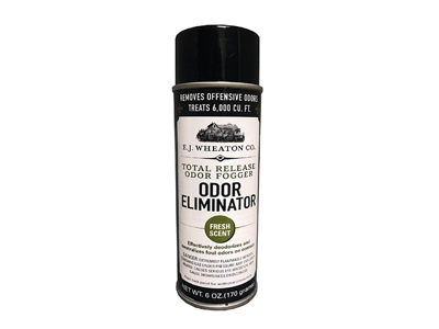 E.J. Wheaton Co. Odor Eliminator, Total Release Odor Fogger, Effectively Deodorizes and Neutralizes Foul Odors on Contact, Fresh Scent (6 OZ)