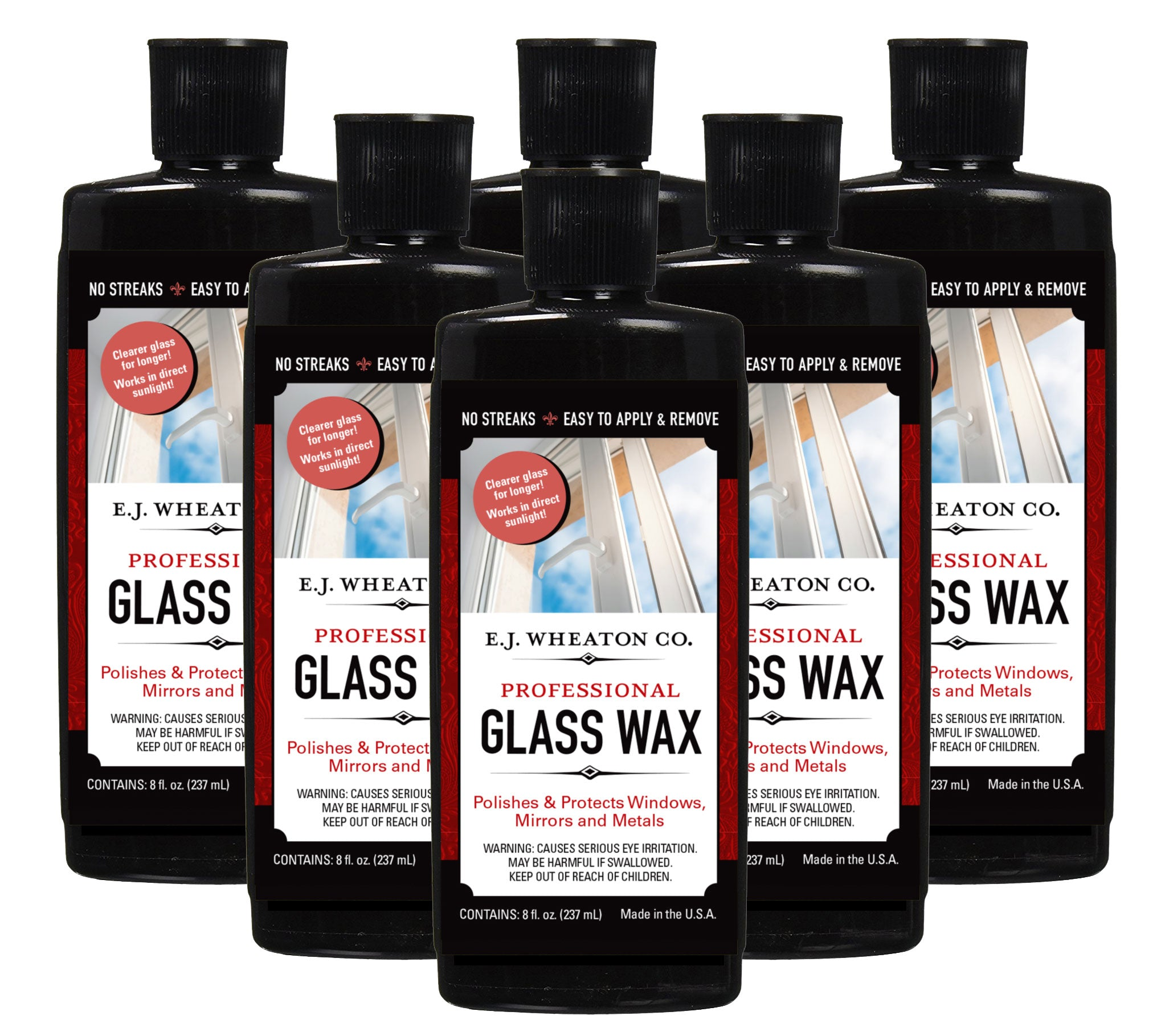 Glass Wax (6 Pack)