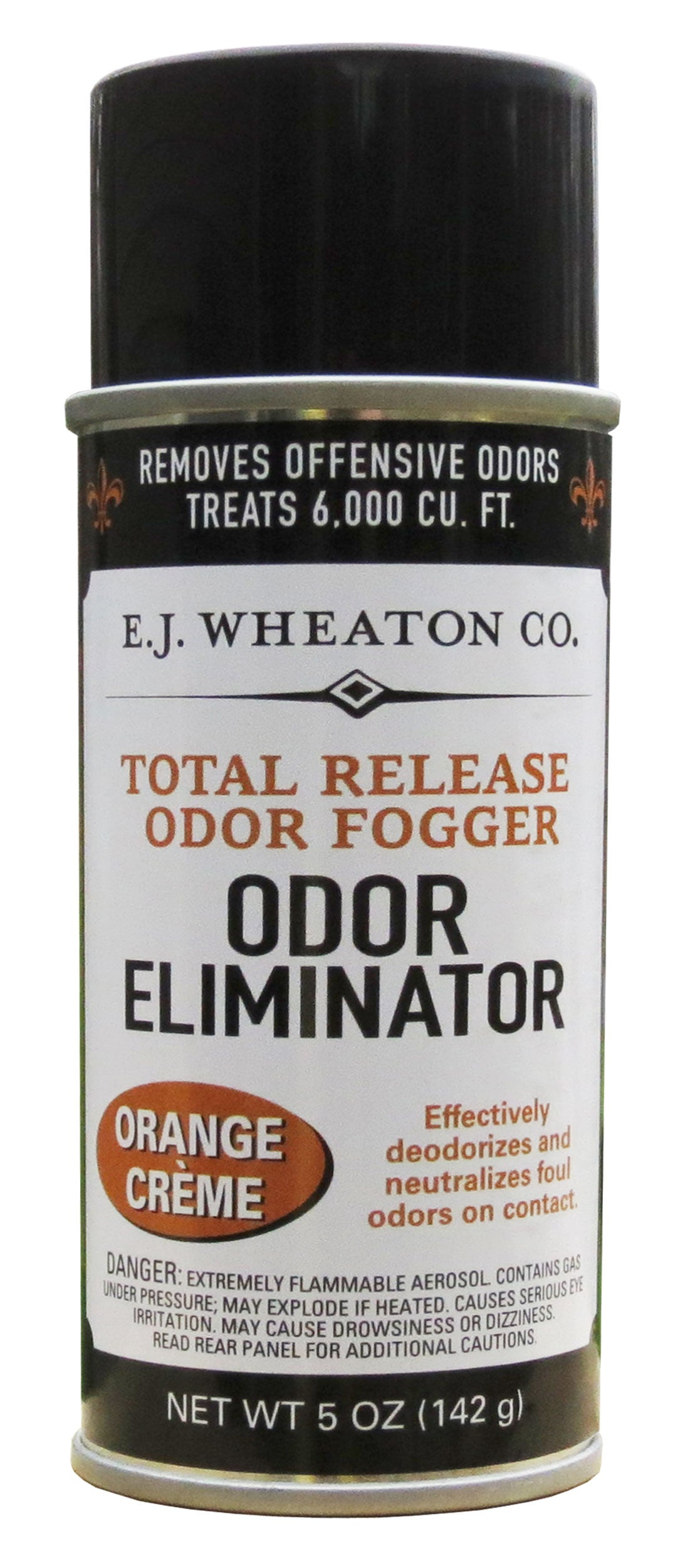 Total Release Odor Fogger, Odor Eliminator, Orange Creme (3 Pack)