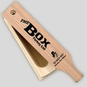 QUAKER BOY APPEAU POUR  DINDON SAUVAGE THE BOX