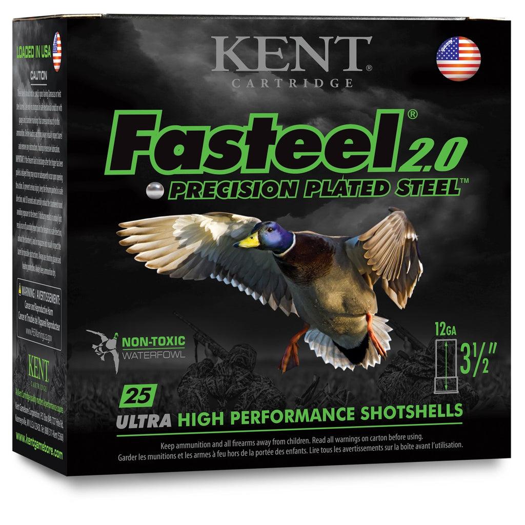 Kent Faststeel 2.0 Precision Plated Steel Waterfowl 3 1/2''
