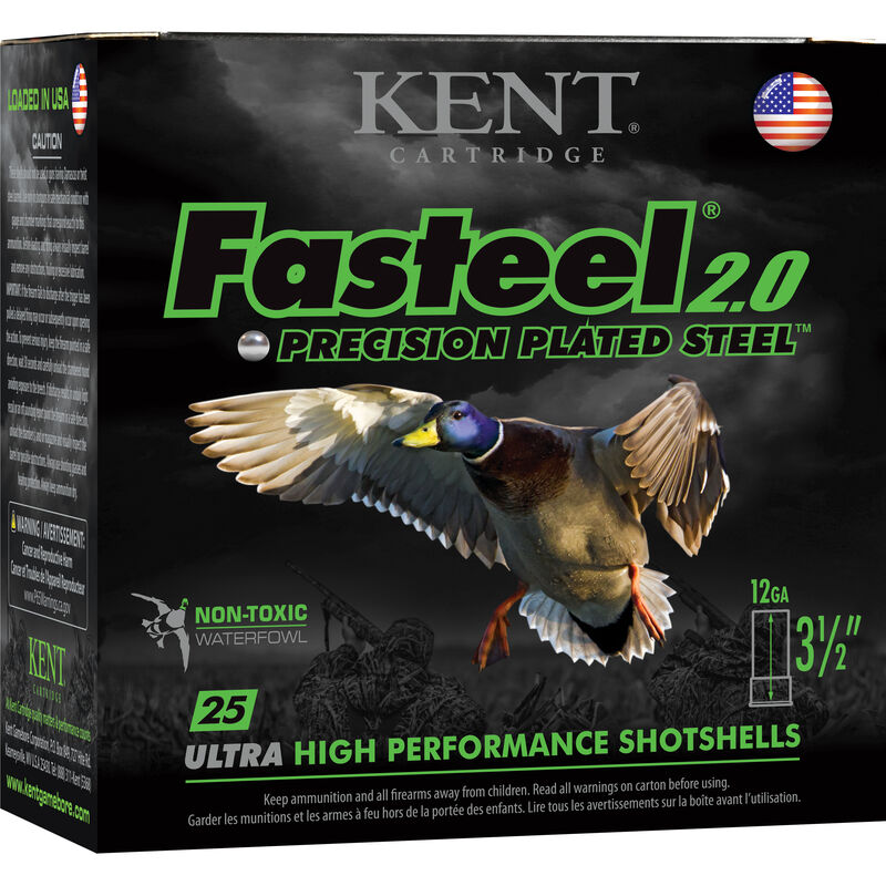 Kent 12Ga Fasteel 2.0 Steel Shotshells Munition