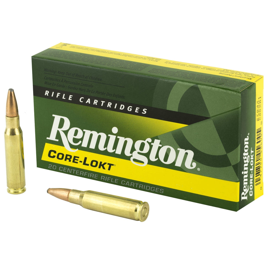 Remington 308 Win Munition Core-Lokt