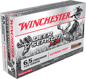 Winchester 6.5 Creedmoor, 125 Grains (Disponible en magasin seulement)