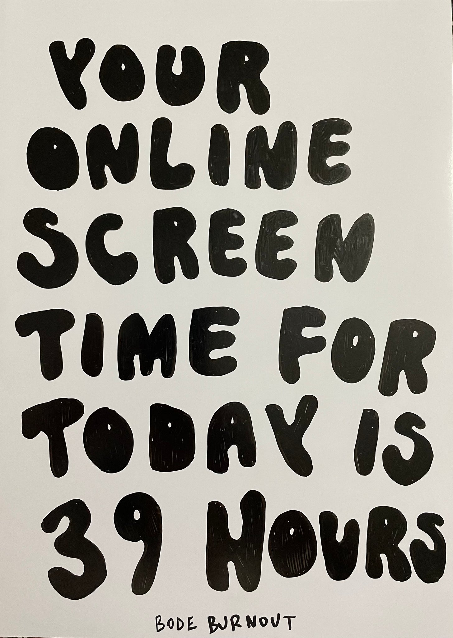Your Online Screen Time Original