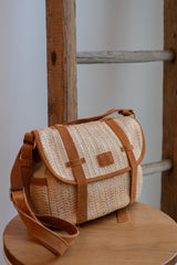 Sac à main MILA LOUISE Sac à main Ness BL3 CAMEL / UNIQUE