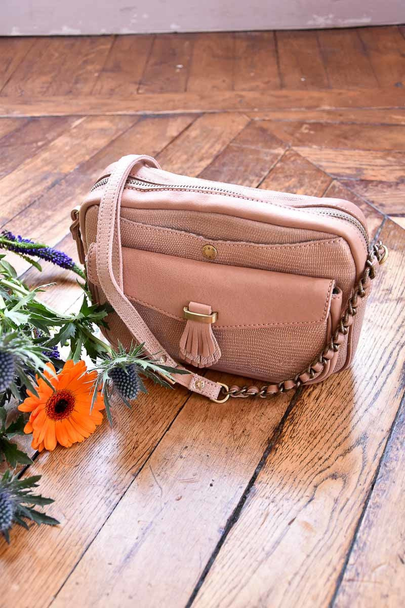 Sac à main MILA LOUISE Sac Orelia L NUDE / UNIQUE