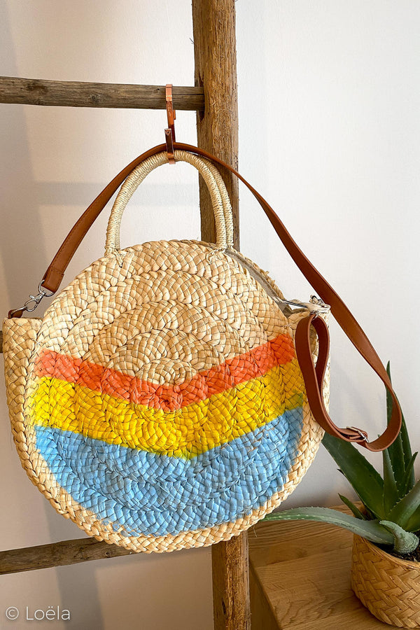 SAC A MAIN LOELA SELECTION Sac Las Rocas BLEU / U