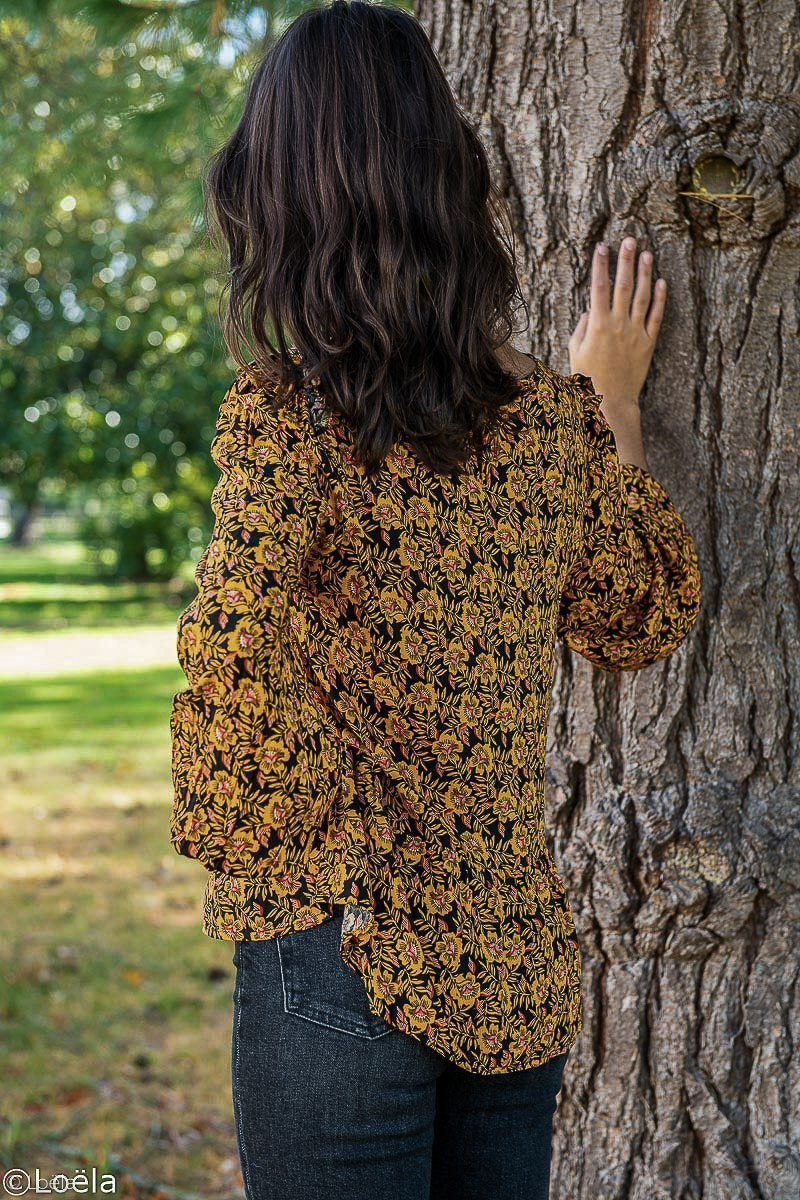Top GRACE&MILA Blouse Bruyère
