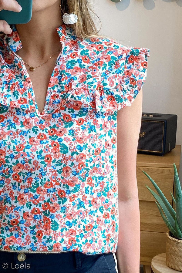 TOP VINTAGE LOVE Top Relax