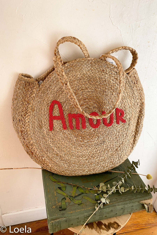 SAC A MAIN LOELA SELECTION Sac Biarritz AMOUR ROUGE / U