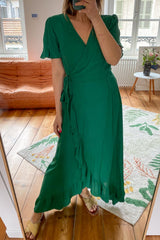 Robe GOA Robe Justine NEW GREEN / S