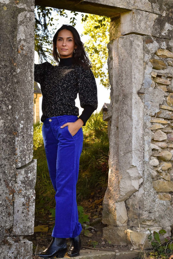 PANTALON HAPPY Pantalon Kiss ROYAL / 23