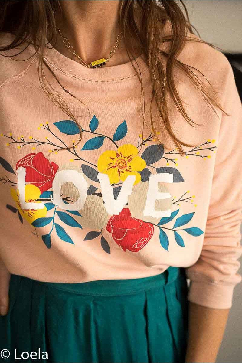 Pull ORFEO Sweat Lila