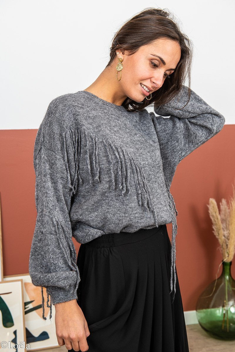 PULL OPULLENCE Pull Marlone GRIS / TU