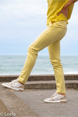 Pantalon HAPPY Pantalon Joy CITRON / 23