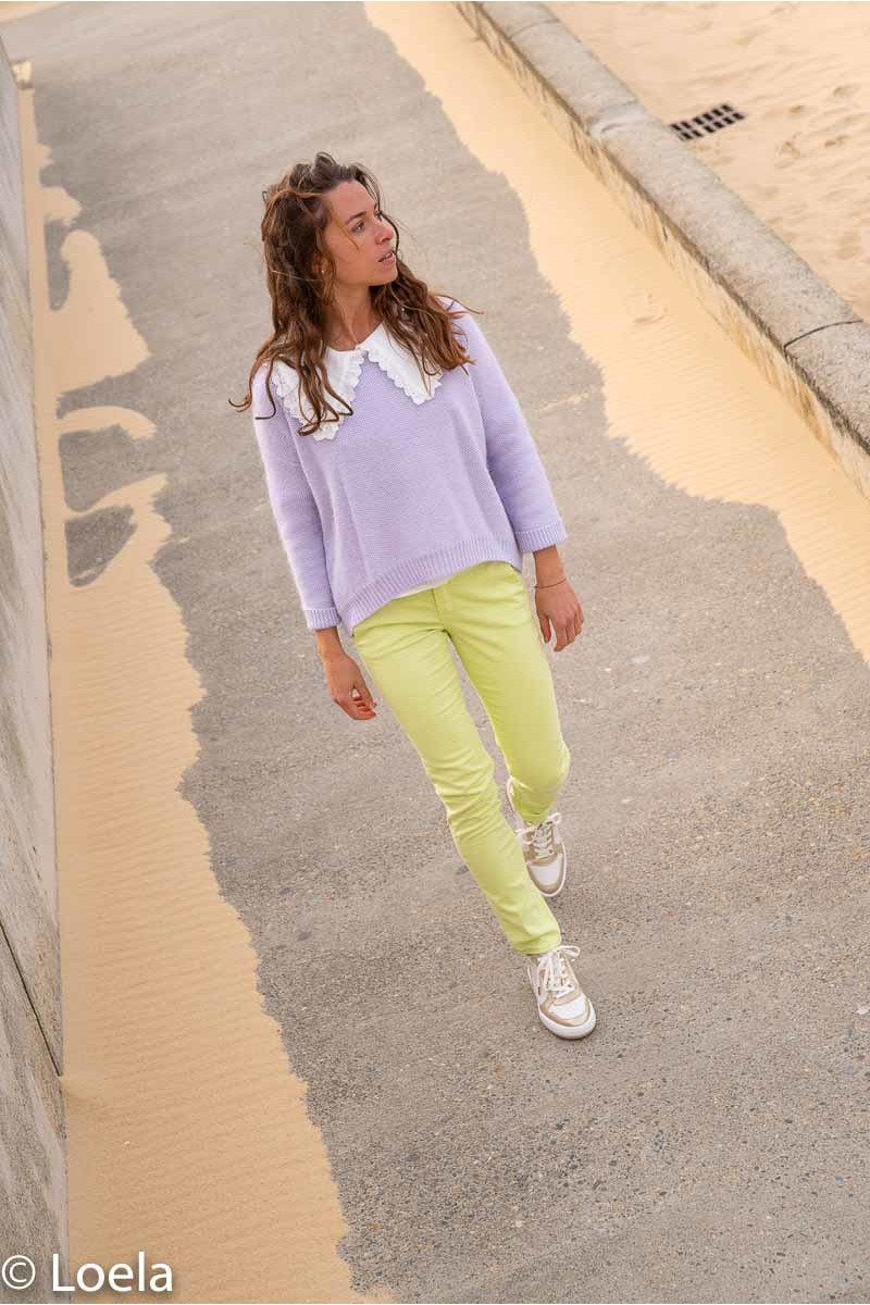 Pantalon HAPPY Pantalon Joy JADE / 23
