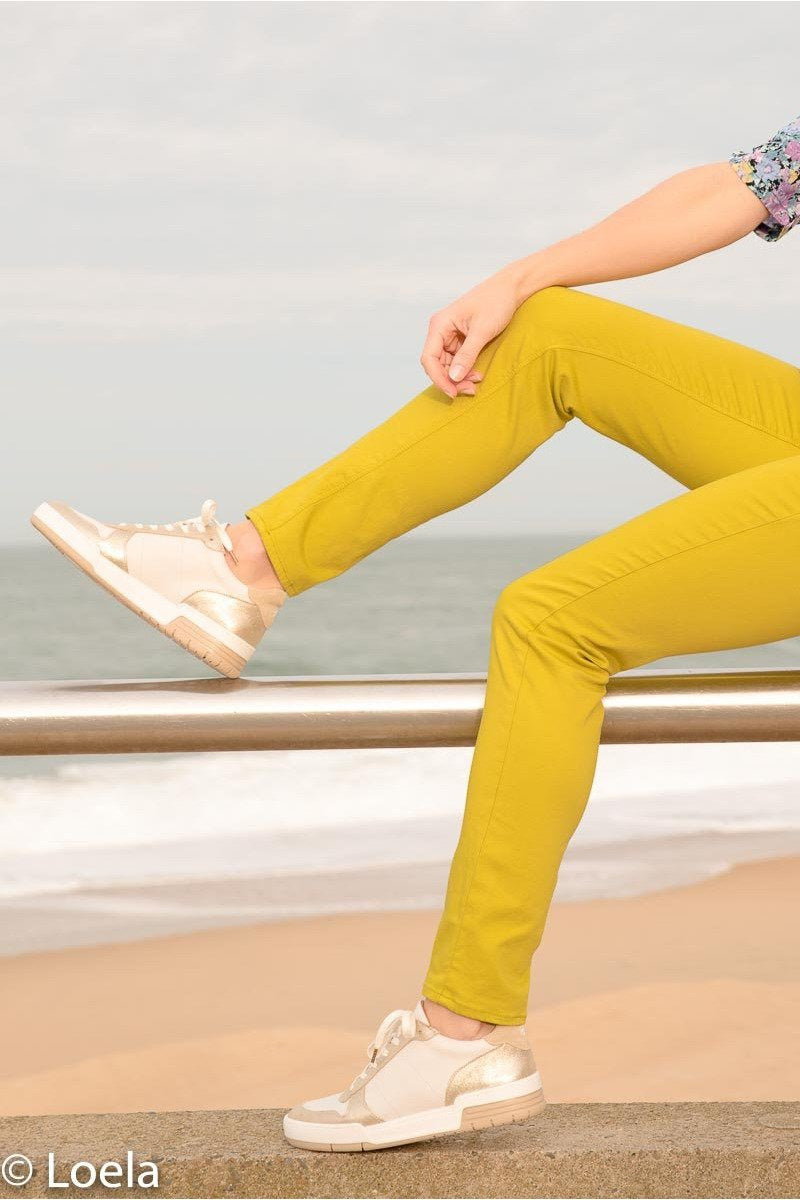 Pantalon HAPPY Pantalon Joy ANIS / 23