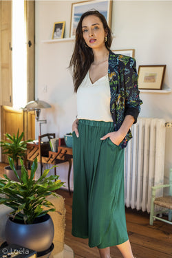 Vêtements YUKA Pantalon June EMERAUDE / 1