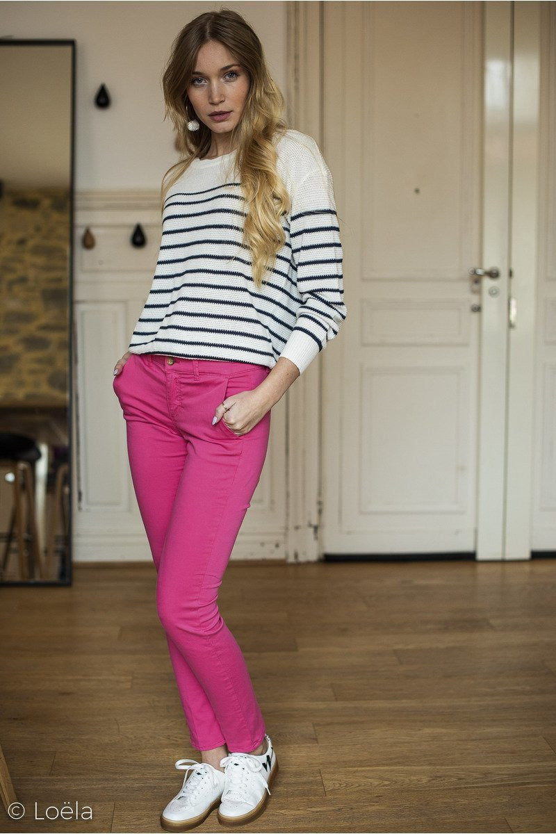 Vêtements HAPPY Pantalon Joy FUSHIA / 23
