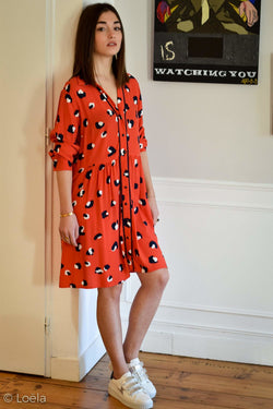 Robe Anthology Vêtements GRACE&MILA ORANGE L