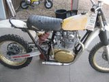 1971 Yamaha 650 Tracker Motocross Hillclimber With a YZ Chassis