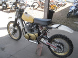 SALE PENDING - 1971 Yamaha 650 Tracker Motocross Hillclimber With a YZ Chassis