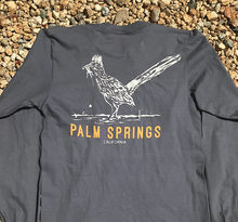 Load image into Gallery viewer, Palm Springs Roadrunner w/Lizard Long Sleeve