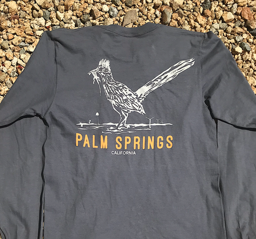 Palm Springs Roadrunner w/Lizard Long Sleeve