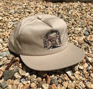 Desert Dweller Palm Springs Bighorn Tan Cap