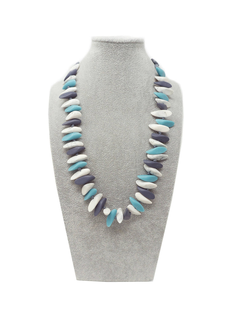 LUN010N NECKLACE TURQUOISE MULTI