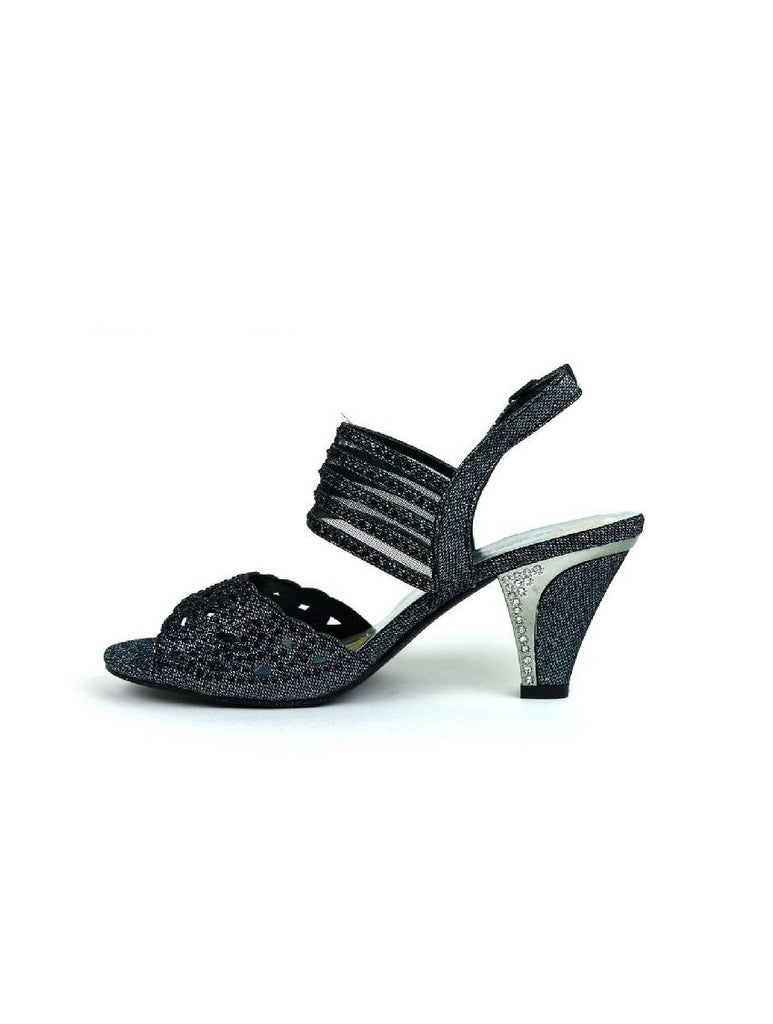 LSA-5025 KINMI 21 BACK BUCKLE LOW HEEL SANDAL