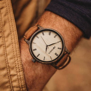 Wooden Watch | Cedar | Botanica Watches