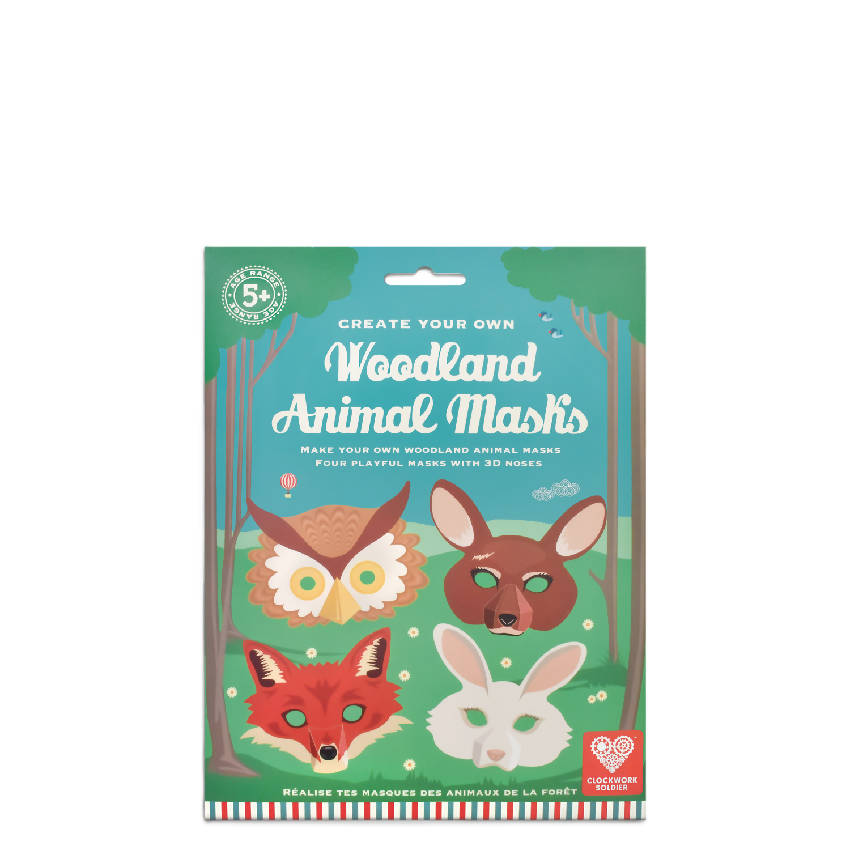 Create Your Own Woodland Animal Masks