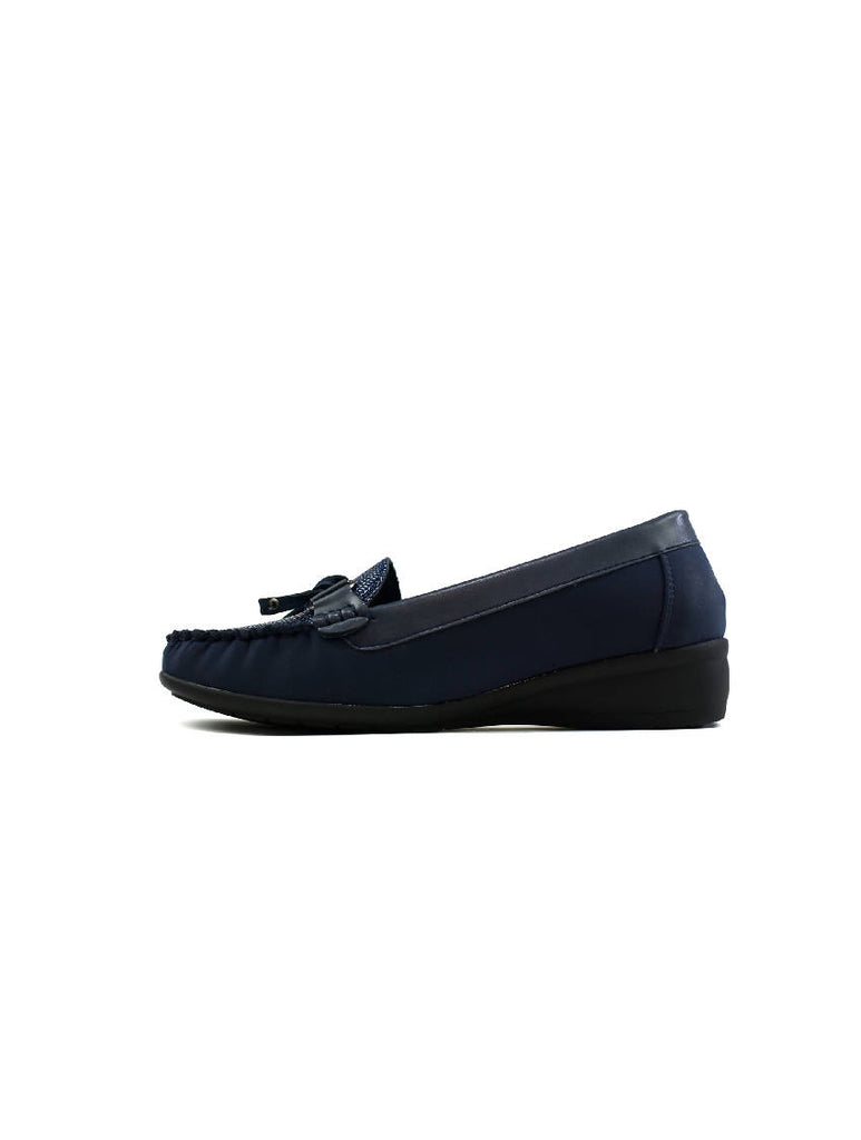 LSH-7943 CY-M32 SLIP ON SHOES - BLUE