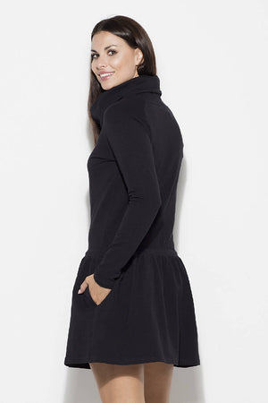 Womens Long-sleeved Dress by Katrus