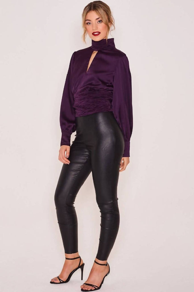 Clea Night Out Top Purple