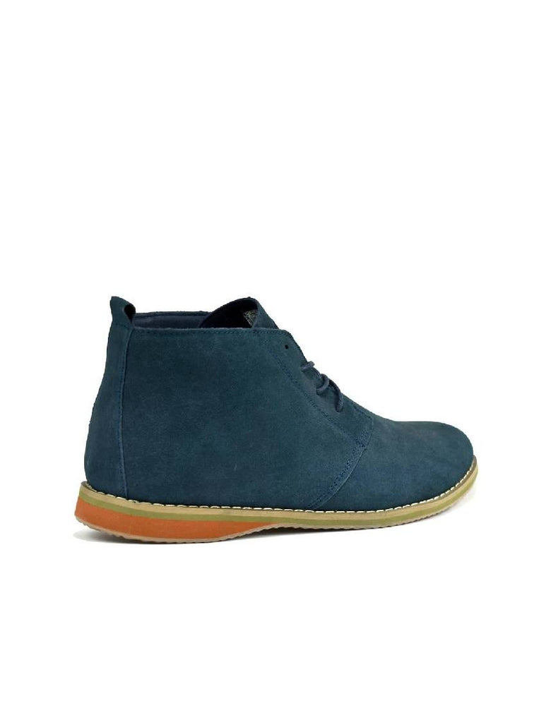 MBO-3737 DESERT BOOTS - NAVY SUEDE - PACK OF 12 - SIZE 7 TO 12