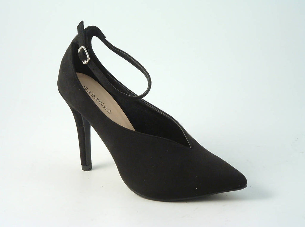 Sabatiné Ankle Strap Court Shoe