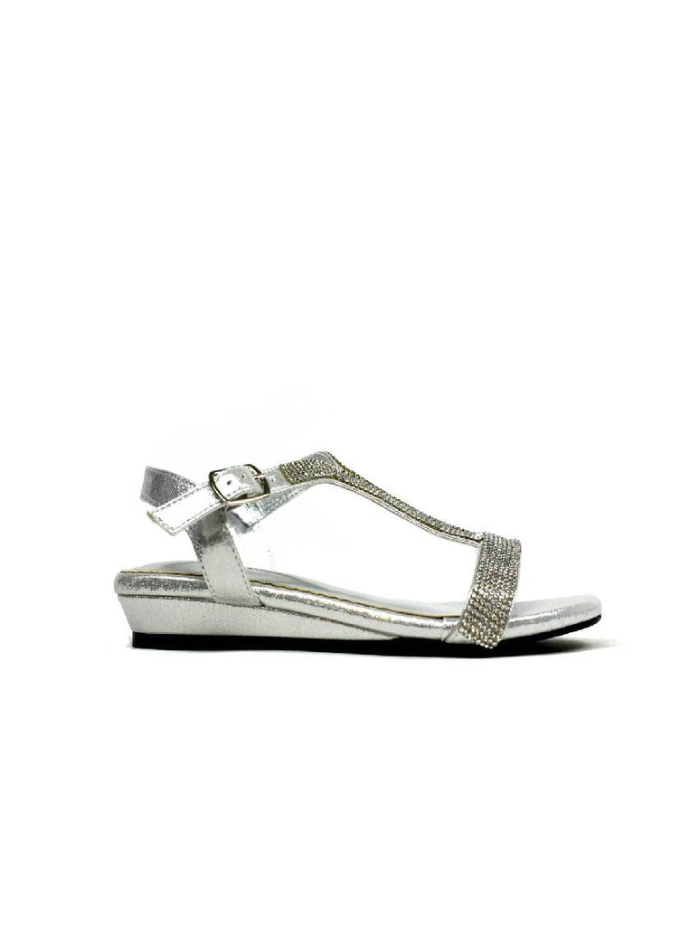 LSA-8064 PZ 313 LOW WEDGE HEEL STRAPPY SANDAL