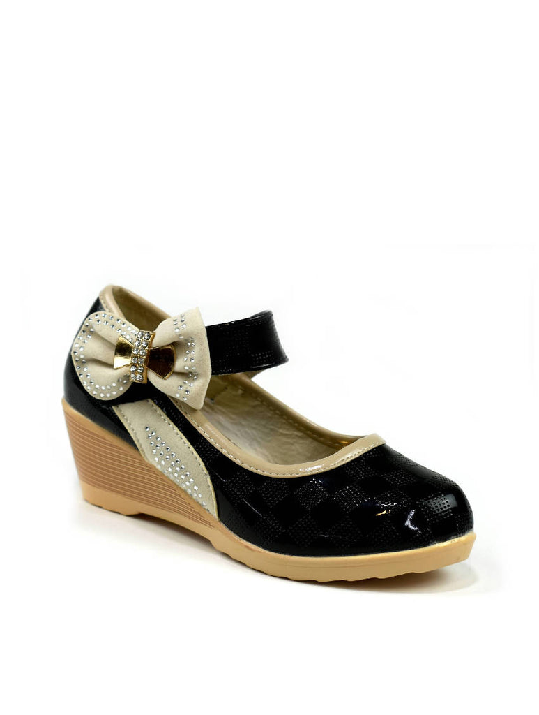 GSH-6091 A271-6B BOW STRAP SHOES
