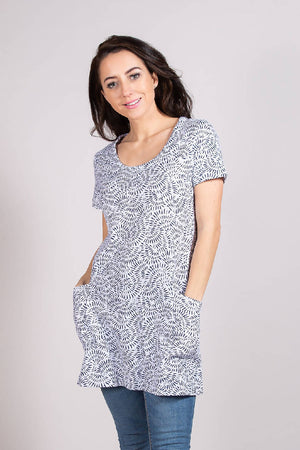 CW 1175 TUNIC WHITE
