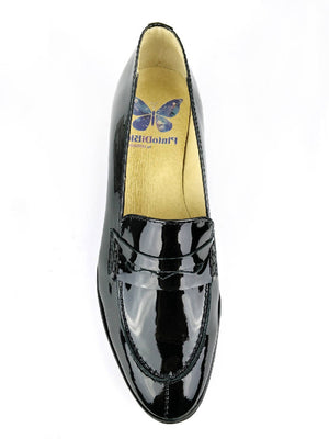Platform Loafer Black