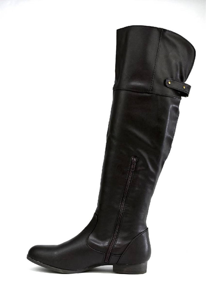 LBO-6761 KNEE HIGH BUCKLE BOOT