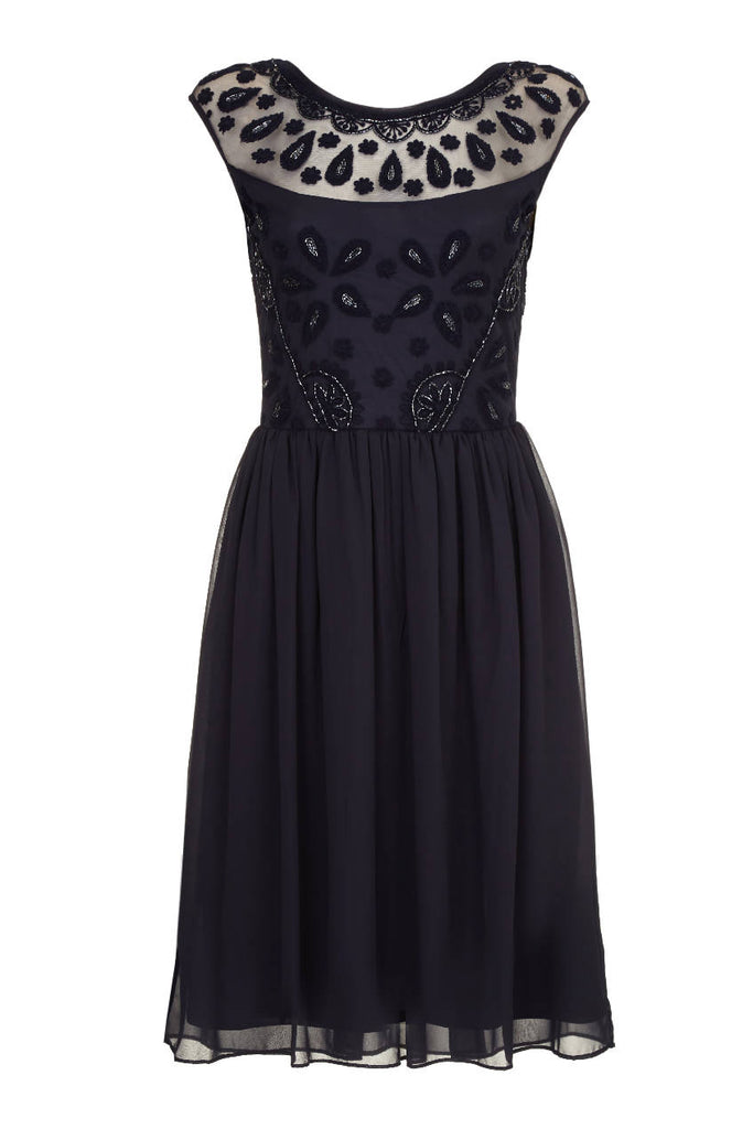 Dorothy Prom Dress in Navy