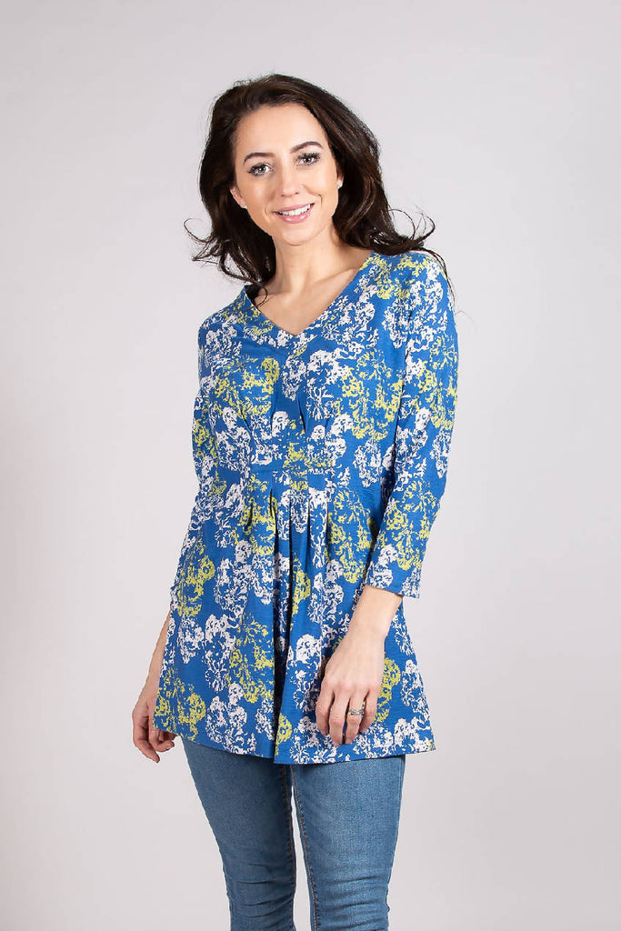 DS 6245 TUNIC BLUE