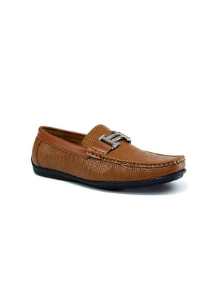 MSH-8068 8232-1 BUCKLE SLIP ON SHOES