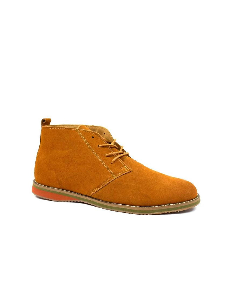 MBO-3737 DESERT BOOTS - CAMEL SUEDE - PACK OF 12 - SIZE 6 TO 11