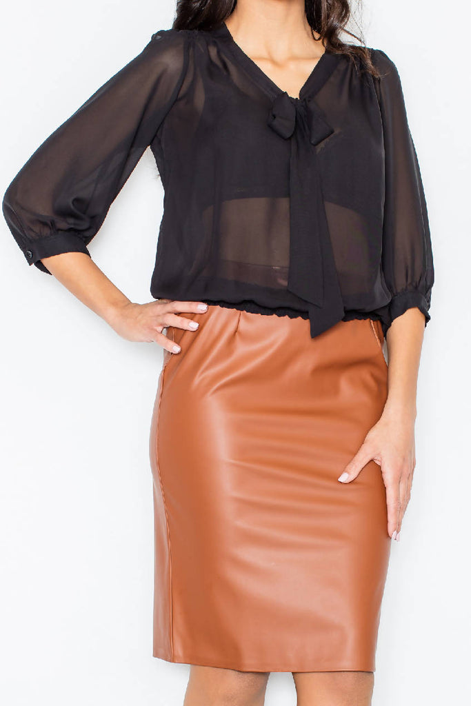 Black Women Blouse